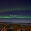 The Aurora Borealis over Hudson Bay, Churchill, Canada