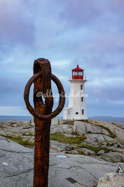 Lighthouse, Peggy's Cove, Nova Scotia