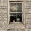 Bottle in a window, Peggy's Cove, Nova Scotia