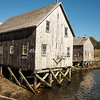 Fishing shack in Lunenburg, Nova Scotia