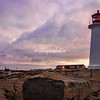 Peggy's Cove at sunrise