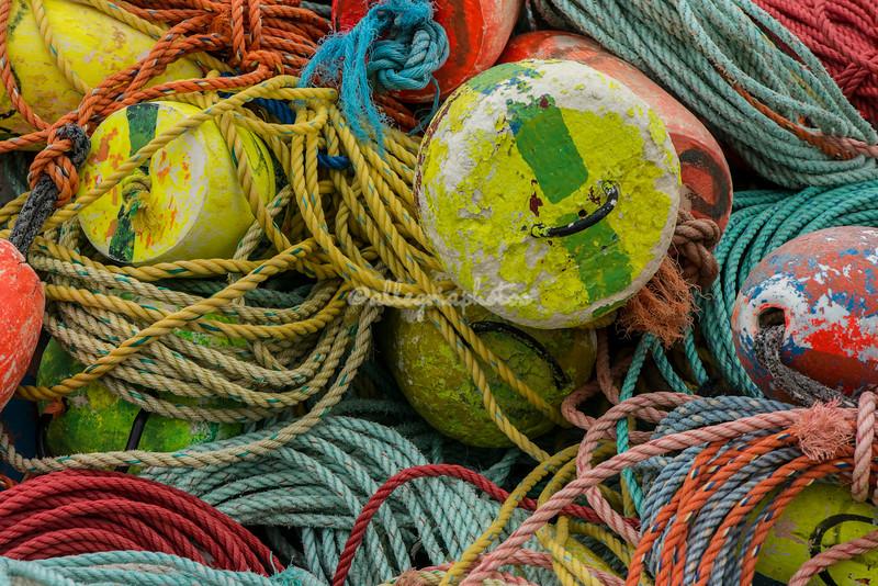 Fishing Buoys and Ropes