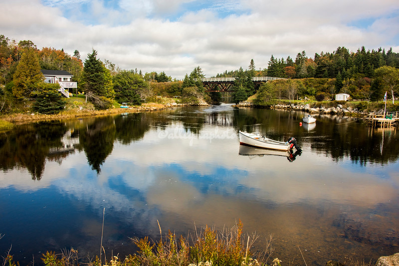 Pond at Queensland, Nova Scotia