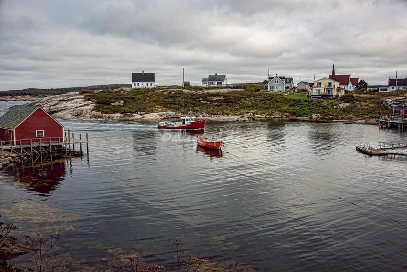 Harbor at Peggy's Cove, Nova Scotia