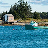 Fishing boat off Blue Rocks, Nova Scotia