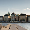 Gamla Stan and pontoon