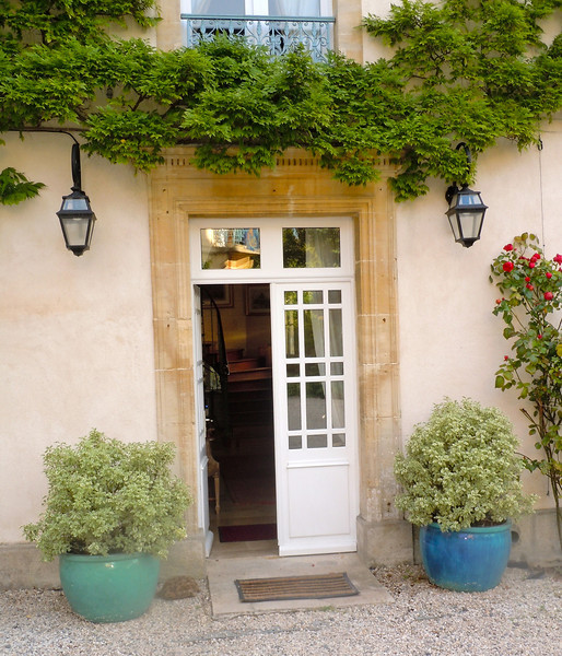 A French doorway