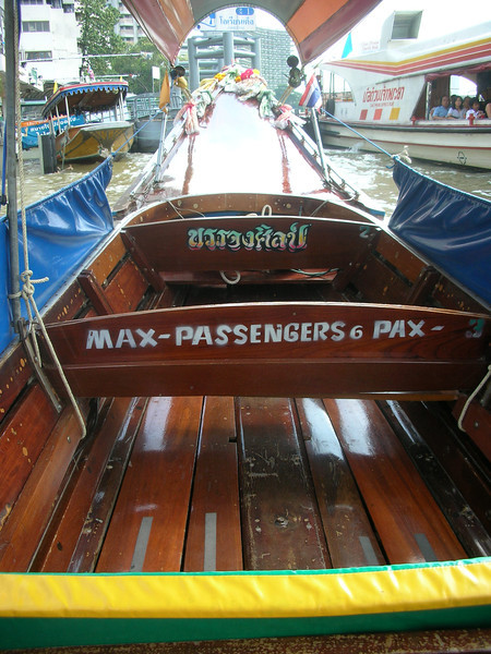 Longboat Interior, Bangkok
