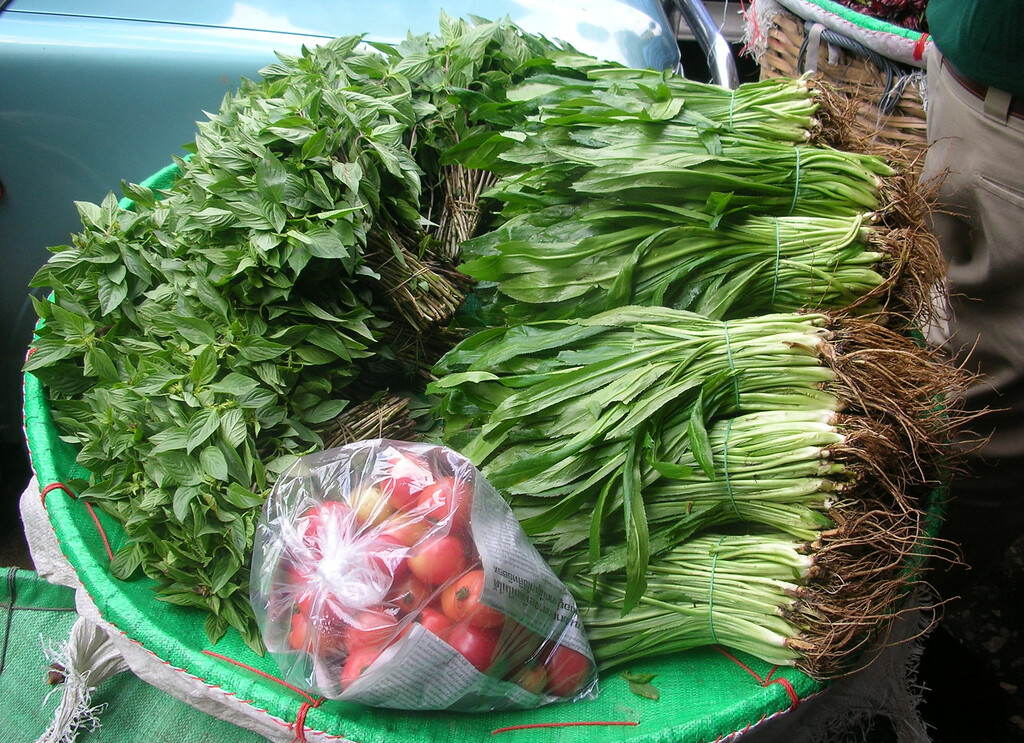 Herbs, Bangkok Flower Market