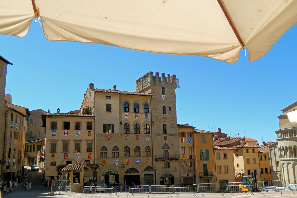 Piazza in Arezzo