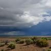 morning storms near Plush Oregon