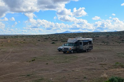 boondocking southern view toward the Warners