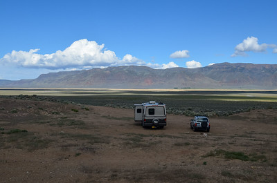 boondocking a few miles north of Plush off road 3-13