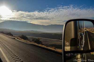 over Highway 58 toward Tehachapi