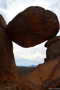 Balance Rock in the Grapevine Hills
