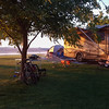 Second evening hanging with family at the campground