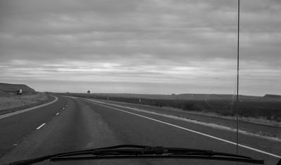 East on I 10 through Texas