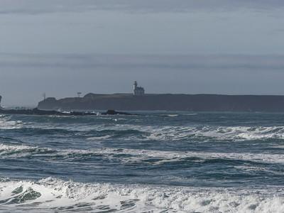 The no longer operating Cape Arago Light