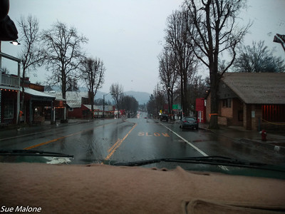 Not a good day to visit Weaverville