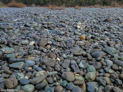 river rock at Society Hole on the Smith River
