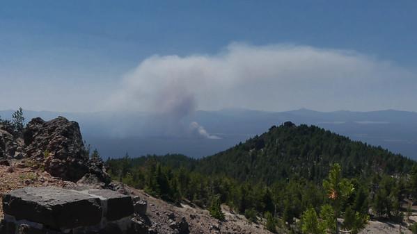 Darlene Fire near LaPine
