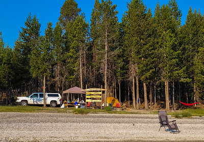 private camp on East Lake