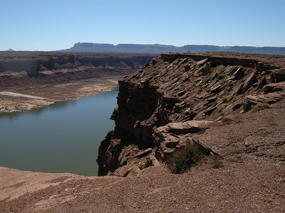 Lake Powell from the Hite Overlook