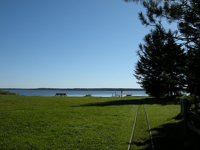 Lake Bemidji from the Paul Bunyan Visitor Center
