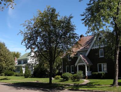 Cloquet has beautiful Craftsman neighborhoods