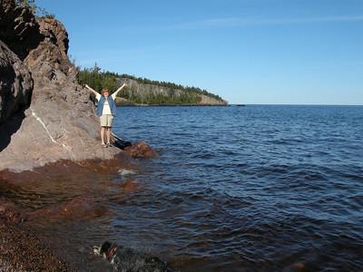 Yaay. North Shore of Lake Superior