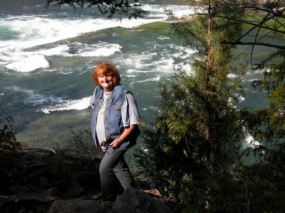 Sue and the Kootenai River