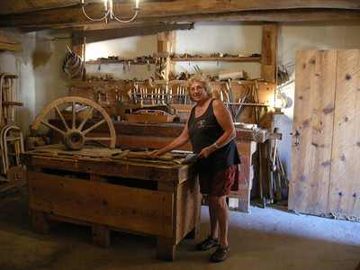 the woodworking shop
