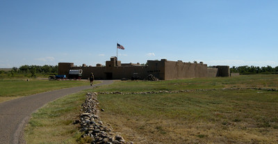 Bent's Old Fort, reconstructed faithfully in 1976