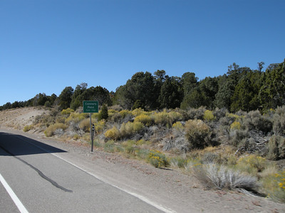 Turning west on Highway 50 toward Conners Pass