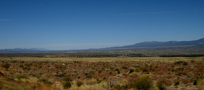 Basin and Range landscapes in Nevada
