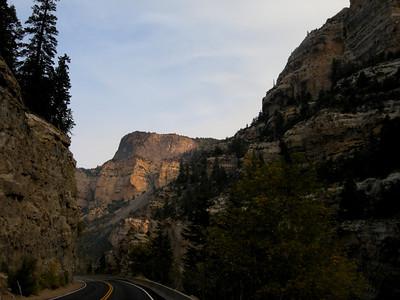 morning light Cedar Canyon Utah Highway 14