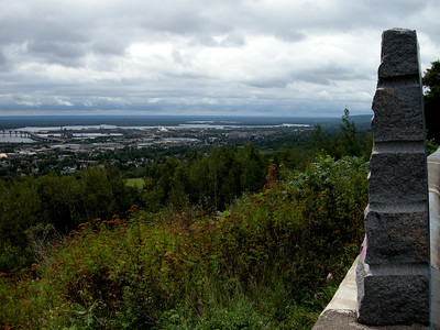 Overlooking Duluth from Skyline Drive