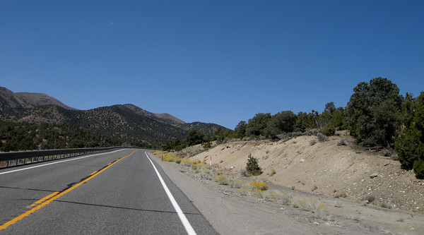 up the grades on Highway 50