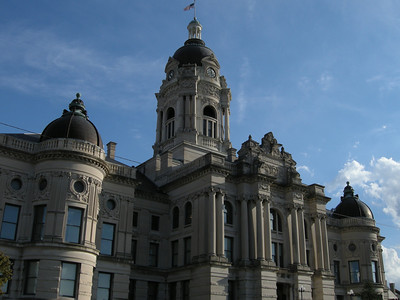 the Evansville Coutrhouse