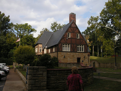the Audubon meeting house built by the CCC in the 30's