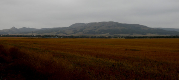 The Kildeer Mountains.  Mo's mother lived on the other side as a child.