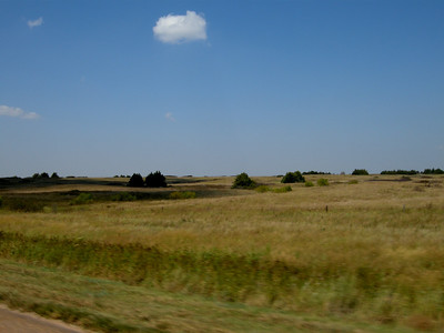 Kansas along route 400