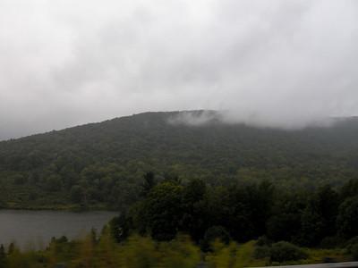 Pennsylvania in the rain