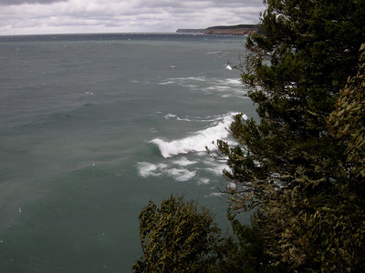 22 foot waves on Lake Superior today