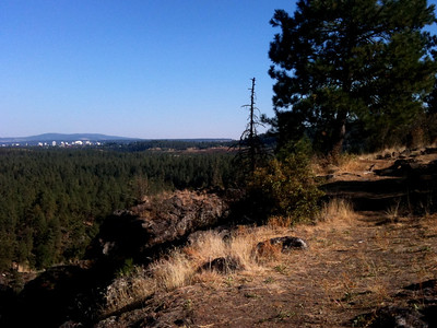 Spokane looks lovely from a distance