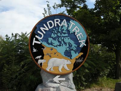 a new display at the Toronto Zoo
