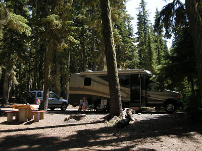 50 sites and only 2 other cars in the entire campground