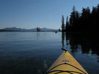 What a gorgeous place for a kayak