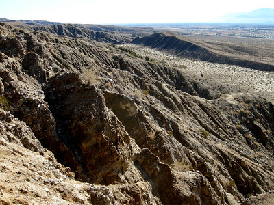 amazing examples of active erosion on the fans