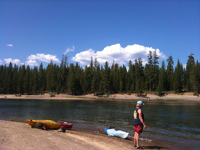South Twin Lake was easy access and a great lake for kayaking